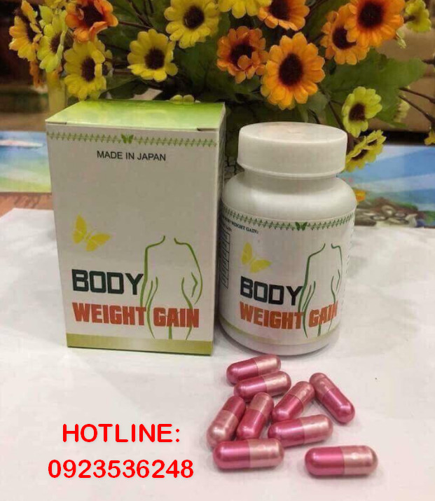 Review thuốc tăng cân Body Weight Gain, Body Weight Gain mua ở đâu, Giá bao nhiêu tiền