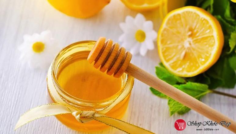 Nước Chanh mật ong giúp giảm cân
