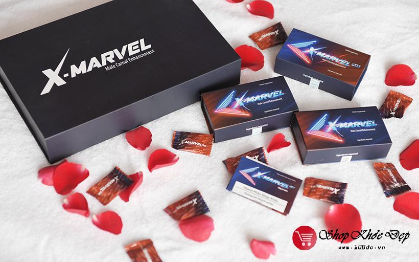 viên ngậm tăng cường sinh lý nam X-Marvel có tốt không? Viên ngậm X-Marvel giá bao nhiêu tiền, X Marvel bán ở đâu chính hãng và viên ngậm X-Marvel cách sử dụng