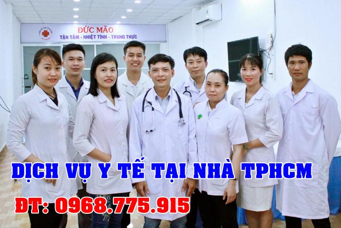 Dịch vụ y tế tại nhà TPHCM thay băng rửa vết thương tại nhà TPHCM