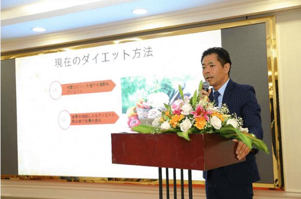 Ông Yasumasa Hibi, chuyên gia dinh dưỡng về giảm cân Nhật Bản